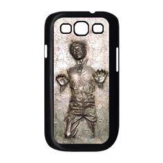 Star Wars han solo carbonite samsung galaxy S3 case ( Black / White Color Case ). $17.89, via Etsy.