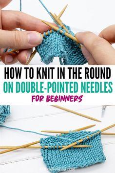Sweater Knitting Patterns, Knit Patterns, Knitting Socks, Hand Knitting, Stitch Patterns, Magic Loop Knitting, Loom Knitting, Easy Knitting Projects, Knitting For Beginners