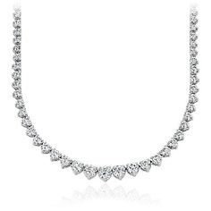 Diamond Necklaces & Diamond Pendants in Platinum & Gold | Blue Nile