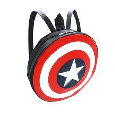 Marvel Captain America Shield Backpack