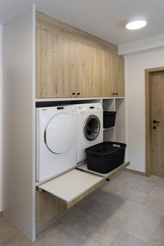 Pantry Laundry Room, Laundry Room Layouts, Laundry Room Remodel, Laundry Room Storage, Laundry Room Design, Apartment Interior, Bathroom Interior, Laundy Room, Modern Laundry Rooms