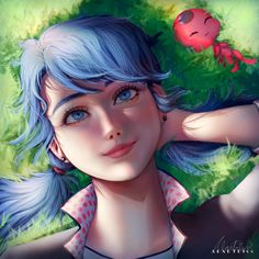 Miraculous Ladybug is a Japanese-French-Korean CGI animated series. It is co-produced by Zagtoon, Method Animation, and Toei Animation. Los Miraculous, Miraculous Ladybug Fan Art, Ladybug Comics, Miraclous Ladybug, Equestria Girls, Animation, Cn Fanart, Ladybug Und Cat Noir, Adrien Y Marinette