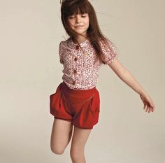 I wish they had the mommy size, too. knickerbocker glory shorts - no added sugar Little Girl Fashion, Toddler Fashion, Kids Fashion, Queer Fashion, Boho Fashion, Fashion Tips, Outfits Niños, Kids Outfits, New Retro Wave