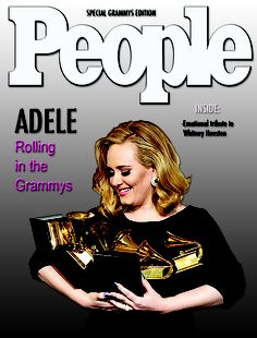 People magazine Adele cover