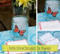 Over 100 Family Dinner Discussion Ideas {What is a hot topic at your dinner table with kids?}