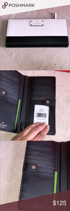 Kate spade large Stacy grove street wallet This is brand new with tags. Compare at 149.00. Feel free to bundle with my card holder that matches !!! kate spade Bags Wallets