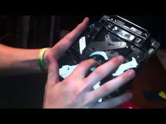 How to clean your DISC READER lens in PS3 Slim (TO FIX NOT READING A GAME) - YouTube