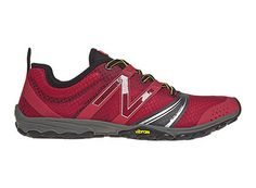 Minimus Trail V2 MT20 Red / Black - Mens  An entirely different approach to trail running, the New Balance Minimus MT20 Trail takes the versatile durability of a Vibram outsole and combines it with a fitted, minimalist upper for a lightweight barefoot experience.