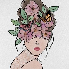 "𝓛𝓸𝓿𝓮, 𝓙𝓮𝓻𝔃𝓮𝓷𝓮 ♡ on Instagram: ""Flora 🌸"" Flora, Watercolor, Digital, Instagram, Art, Watercolor Painting, Kunst, Watercolors, Watercolour"