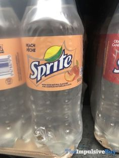 Peach Sprite out in Canada for Limited Time Peach Drinks, Fun Drinks, Yummy Drinks, Alcoholic Drinks, Beverages, Yummy Food, Fruity Drinks, Tasty, Pop Drink