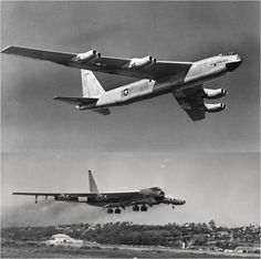 Sixty-years ago this week, the USAF/Boeing YB-52 Stratofortress (S/N 49-231) all-jet strategic bomber took to the air on its maiden flight.