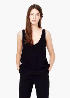 Beaded top - Shirts for Women | MANGO