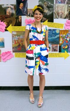 Cassie Stephens: What the Art Teacher Wore #169