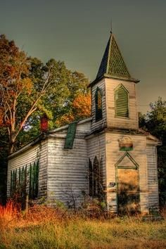 Abandoned Church , Civil War Era