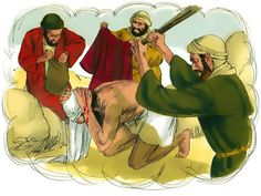 FreeBibleimages :: Parable of the Good Samaritan :: Jesus tells a parable about a Samaritan who, unlike a Jewish Priest and a Levite, stops to help a Jew who has been attacked and robbed (Luke The Good Samaritan Lesson, Good Samaritan Bible, Family Bible Study, Bible Lessons For Kids, Bible Activities, Let Them Talk, Selfish, Priest, Illustration