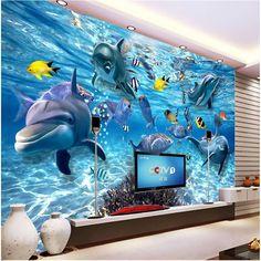 Modern Mural Home Decor Custom Any Size Large Wallpaper For Living ...