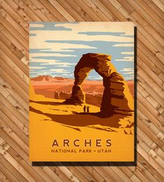 Arches National Park Print | Art Prints | Anderson Design Group | Scoutmob Shoppe | Product Detail