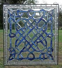 stained glass- what a great geometric pattern - has a celtic look