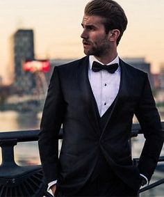 Berlin Bound: André Hamann Dresses Up with Hugo Boss