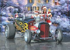 The holiday season is here ....  It's time to start thinking about Christmas cards and calendars. If you're into hot rods or rat rods, you might like the selection of greeting cards and calendars at Rat Rod Studios CafePress store. Stop by and take a look .....  http://www.cafepress.com/ratrodstudios