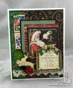 Miriam's Delirium: Graphic 45 St. Nicholas Cards