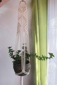 best 25 macrame plant hanger diy ideas on Macrame Hanging Planter, Macrame Plant Holder, Plant Holders, Hanging Plants, Cordon Macramé, Pot Hanger, Wall Hanger, Macrame Projects, Macrame Patterns