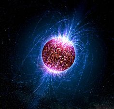A neutron star, despite being mostly made of neutral particles, produces the strongest magnetic fields in the Universe: NASA / Casey Reed - Penn State University Cosmos, Gravitational Waves, Neutron Star, Spiegel Online, Space And Astronomy, Astronomy Stars, Space Time, To Infinity And Beyond, Outer Space