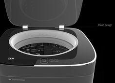 A Washing Machine that Doesn't Need Detergent | Yanko Design