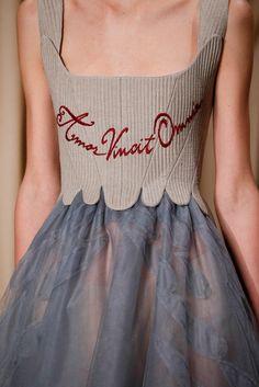 Valentino Cpring 2015 Haute Couture amor vincit omnia