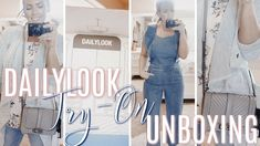 DAILYLOOK Unboxing + TRY-ON | High-End Fashion Box