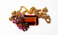 Madeira Citrine Necklace Citrine Necklace by exquiscustomjewelry, $355.00