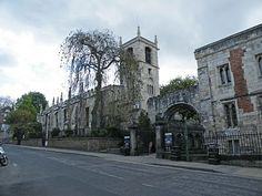 St Olave, York, Yorkshire; marriage place (10 Jul 1551) of John Parker (1528 - 1575) and Alice Law.