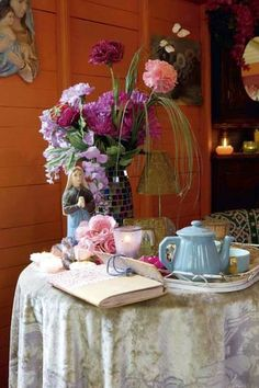 ~~~ I miss my friend to have tea with, that was you Mom. My Best Friend, My Mom. xox ~~~