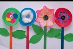 Mary, Mary Quite Contrary flower craft