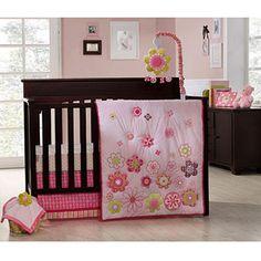 Graco - Daisy Chain 4pc Crib Bedding Set - Value Bundle