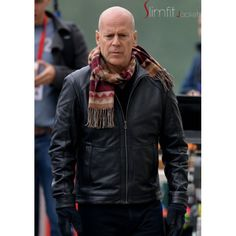 bruce willis leather jacket - Google Search
