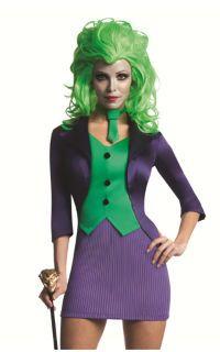 Discount Batman s Harley Quinn Halloween Costume for Sale - Female Joker  1f8ed11d5