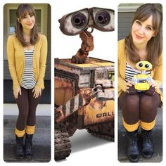 For my Day 21 disneybound, I'm a Waste Allocation Load Lifter- Earth Class. But you might know me as WALL-E.
