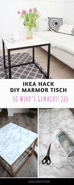 Ikea Hack, marmortisch, Tisch selbst bauen, möbel selbst bauen, Couchtisch aufpimpen