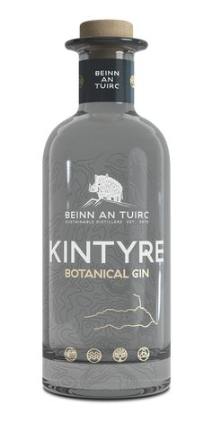 Beinn an Tuirc Distillery proudly presents Kintyre Gin, a beautifully blended spirit using carefully selected botanicals.