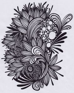 Doodling is very powerful, very rewarding and can open up all kinds of creative areas of the brain. And they can be an artform in themselves
