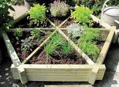 Herb Wheel Planter   AWBS Landscaping and Building Supplies