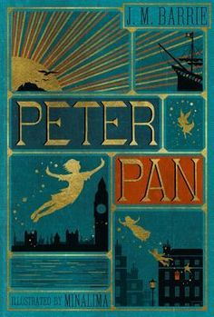 The 2003 live action movie, the 1953 Disney cartoon, and the Robin Williams movie Hook are all based on J.M. Barrie's classic novel Peter Pan, about a boy who never grows up.