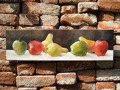 Fruits - acrylics by Mugur Kreiss