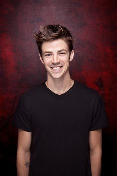 Grant Gustin of 'The Flash' poses for a portrait at SDCC 2015 for Los Angeles Times on July 9, 2015