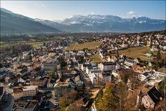 Лихтенштейн с обзорной площадки