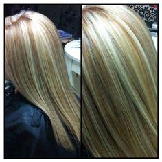Dimensional blonde.  Erin