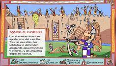 EL BLOG DE LA PROFE MARTA: ASALTO MATEMÁTICO AL CASTILLO MEDIEVAL