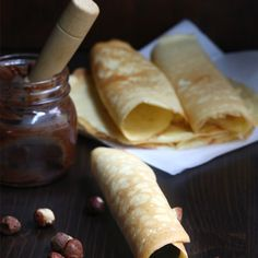Almond Flour Cream Cheese Crepes