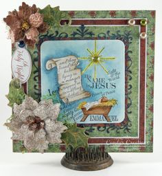 Sweet Baby Jesus Card by Candy S. - Cards and Paper Crafts at Splitcoaststampers